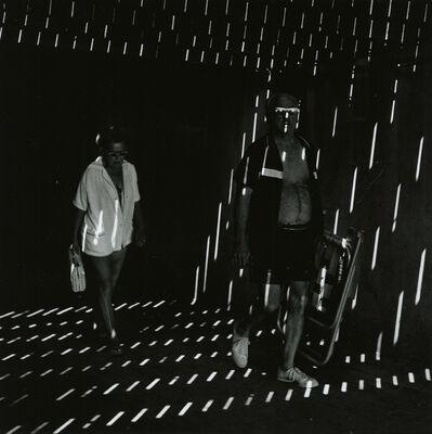 """Ray K. Metzker, '66 GZ-1, Atlantic City, from """"Under the Boardwalk""""', 1966"""