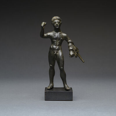 Unknown Roman, 'Etruscan Bronze Sculpture of Hercules', 300 BC to 100 BC