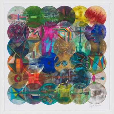 Wu Jian'an 邬建安, '36 Color Balls (Curve) 36颗彩色圆球(曲线)', 2018