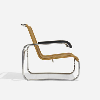 Marcel Breuer, 'Early B35 Lounge Chair', 1928-1929