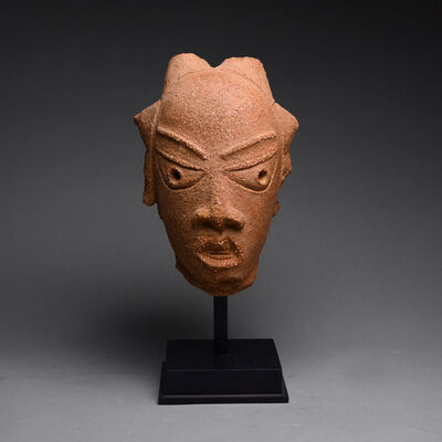 Guinea Coast, Nigeria, Nok region, 7th century BC-3rd century AD, 'Nok Terracotta Head of a Woman', 200 BC to 200 AD