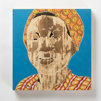 Aimé Mpane, 'Icône Contemporaine XXVII', 2012