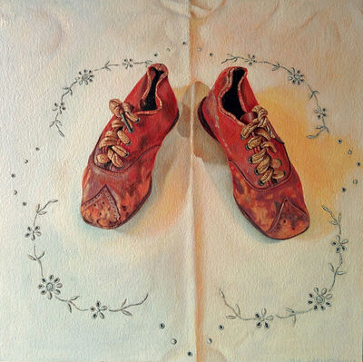 Lucy Gaylord-Lindholm, 'Red Shoes', 2018