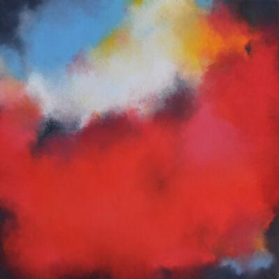 "Kerstin Piallard, '""Hanami - Picnicking Under a Blooming Cherry Tree""', 2018"