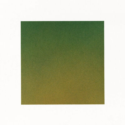 Nicole Phungrasamee Fein, '21.04.05.01 Jadeite Green Hooker's Green Cadmium Orange Hue Cadmium Yellow Deep Hue Nickel Azo Yellow Quinacridone Rose Cadmium Red Deep Marine Blue', 2021