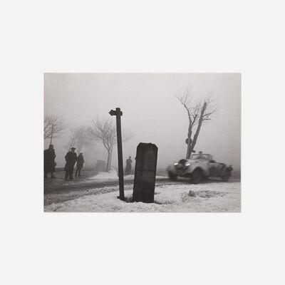 Wolf Strache, 'Autorennen im Nebel', 1938