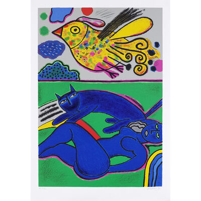 Corneille, 'Le doux félin de l'été ', 1992