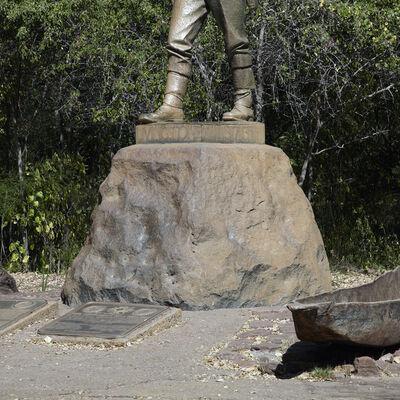 Stuart Whipps, 'David Livingstone Memorial, Victoria Falls, Zimbabwe', 2015