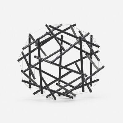 R. Buckminster Fuller, '30 Strut, 3 Frequency (3v) Geodesic Tensegrity Sculpture Dome', 1980