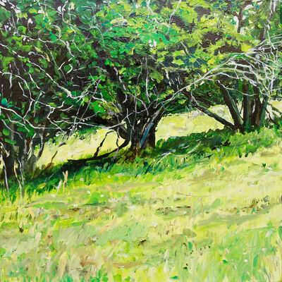 Rebecca Perehudoff, 'Three in a Field', 2020