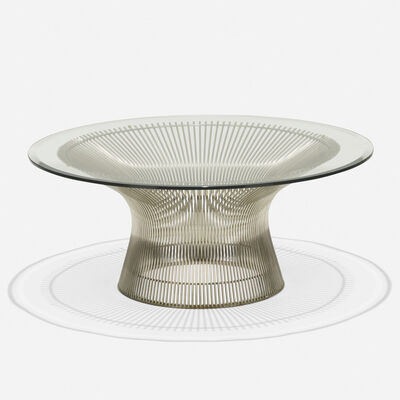 Warren Platner, 'coffee table', 1965