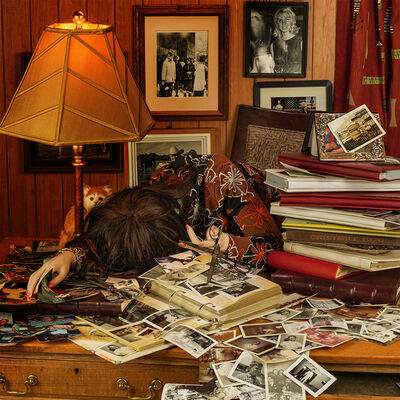 Patty Carroll, 'Scrapbooking', 2019