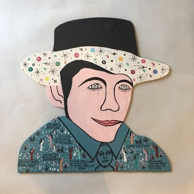 Howard Finster, 'Hank Williams', 1989