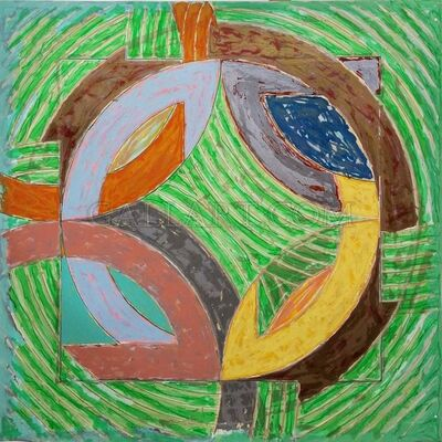 Frank Stella, 'POLAR COORDINATES IV', 1980