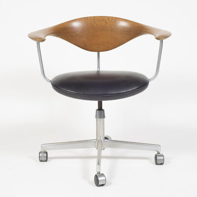 Hans Jørgensen Wegner, 'Oak Swivel Chair', 1955