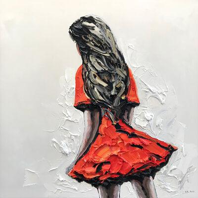 Palla Jeroff, 'Red Desert Girl', 2018