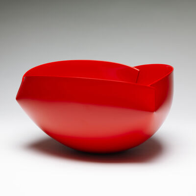 "Ann Van Hoey, '""Red Vessel 2""', 2014"