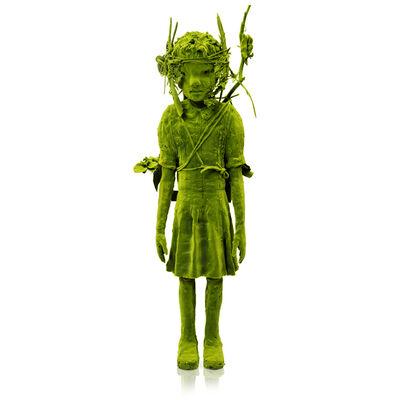 Kim Simonsson, 'Moss Girl with Found Electronics', 2019