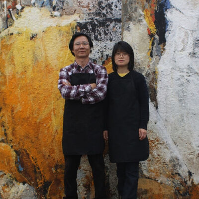 Jeong & Choon Yun - Paper Tapestries, installation view