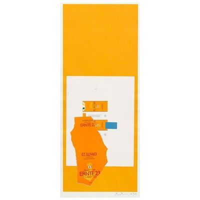 Robert Motherwell, 'Summer Light Series: Harvest, With Leaf', 1973