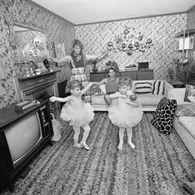 Meryl Meisler, 'Twin Tutus', 1976