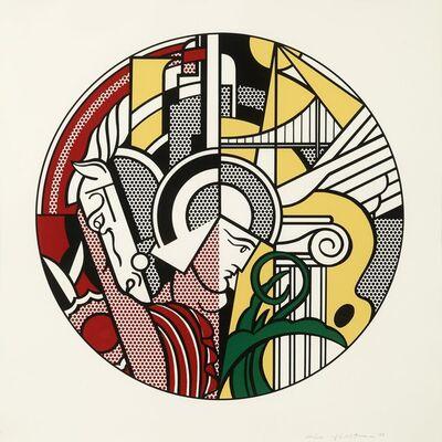 Roy Lichtenstein, 'Modern Argonaut with Horse (Guggenheim)', 1969