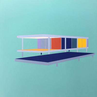 Matthew de Moiser, 'Farnsworth house', 2020