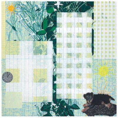 Jennifer Losch Bartlett, 'Air: 24 Hours, One P.M.', 1991-92
