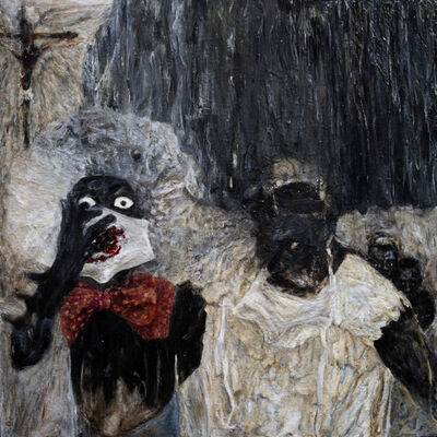 Kharis Kennedy, 'Headdress by McQueen', 2012