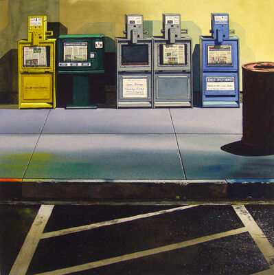 James Torlakson, 'News Stands - original watercolor', 2016