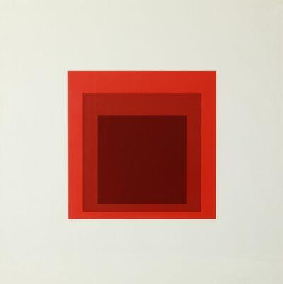 Josef Albers, 'IS-JP', 1972