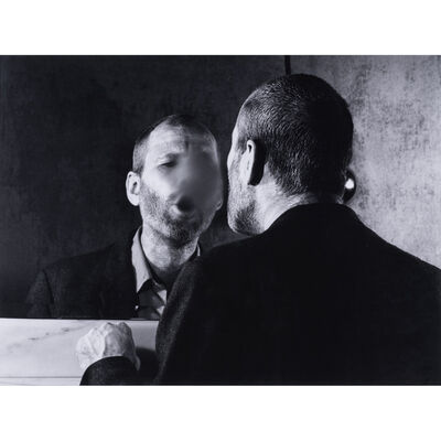 Dieter Appelt, 'Autoportrait-The mark of the Mirror Breathing Makes', 1978