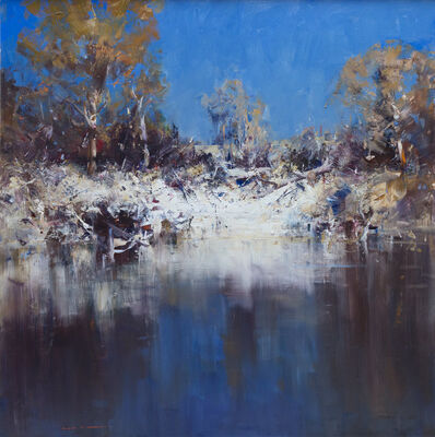 Ken Knight, 'Waterhole, Harden', 2019