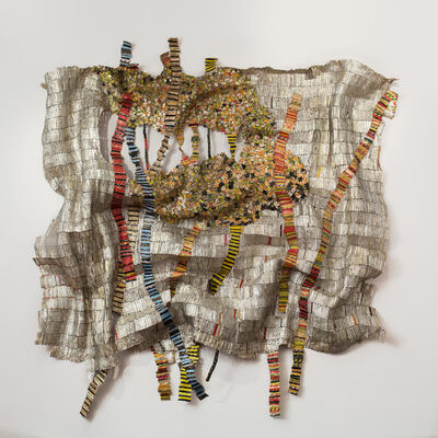 El Anatsui, 'Strained Roots', 2014