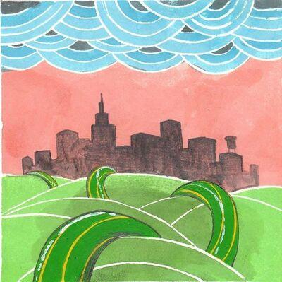 Okay Mountain, '7x7 Collaborative Drawing (#41)', 2011