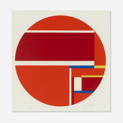 Ilya Bolotowsky, 'Red Tondo', 1979