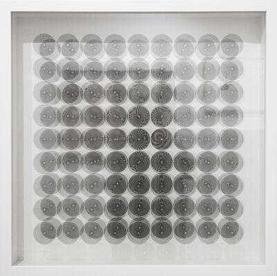 Ludwig Wilding, '9 x 9 Kreise / Circles', 1967