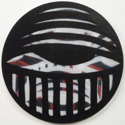 AholSniffsGlue, 'Untitled (Black Eye)', 2019