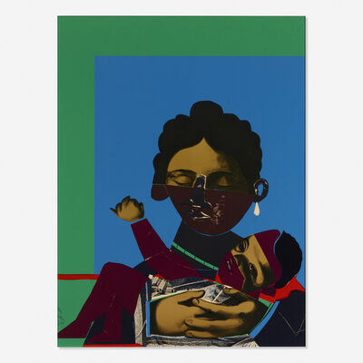 Romare Bearden, 'Mother and Child from Conspiracy: The Artist as Witness', 1971