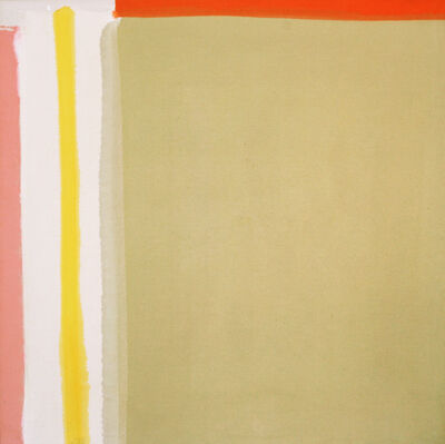 Kenneth Lochhead, 'Yellow Reach', 1964