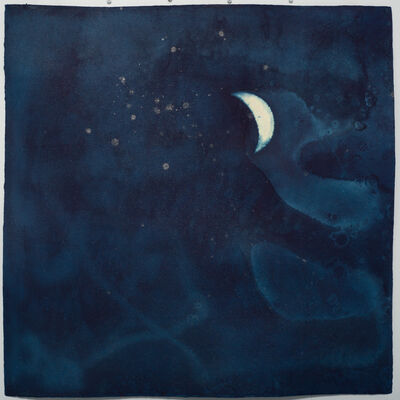 Miya Ando, '4 Shohaku (First Dark Moon/Waxing Crescent) August 23 2020', 2020