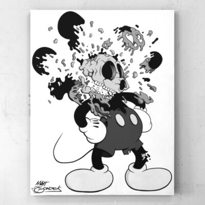 "GONDEKDRAWS ""Matt Gondek"", 'Deconstructed Mouse Monochromatic', 2018"