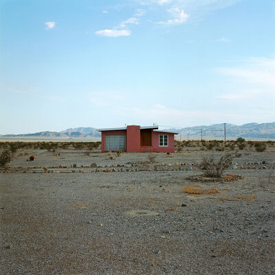 John Divola, 'From the series Isolated Houses, N34º 09.900' W115º 48.824'', 1995 -1998