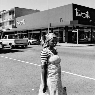 David Goldblatt, 'On the corner of Commissioner and Eloff Streets', 1979
