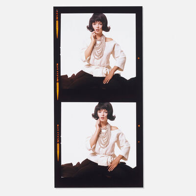 Bert Stern, 'Monroe with Jackie O Wig (from the Lost Sitting)', 1962