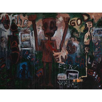 Aboudia Abdoulaye Diarrassouba, 'The God', 2011