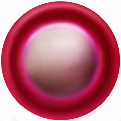 Kerstin Kubalek, 'Red Circle', 2021