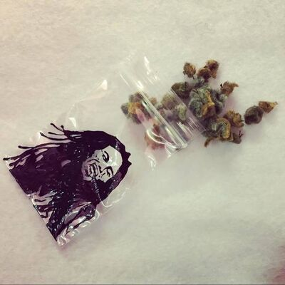 "Lucy Sparrow, 'LUCY SPARROW SIGNATURE ""FELT WEED"" HYPER RARE', 2018"