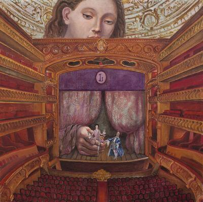 Brigitte Szenczi, 'El caballero de la rosa', 2019