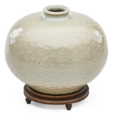 Gerd Bogelund, 'Vase with fishscale pattern', ca. 1950